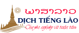Công Ty Dịch Thuật Phiên dịch tiếng Lào